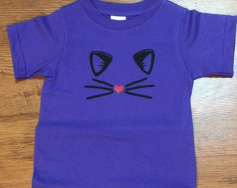Kitty T-Shirt, whiskers, cat face, cat whiskers
