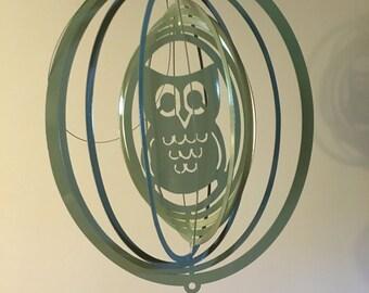 Owl wind spinner