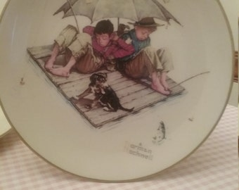 Norman Rockwell 1975 Plate