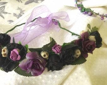 Unique flower crown