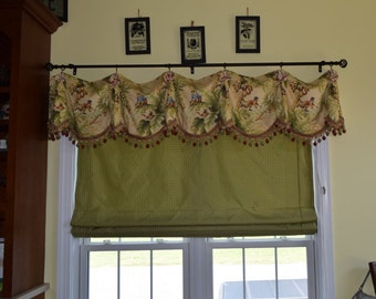 Custom Roman shades with small valance, Valances, window treatments, curtains, home decor, toppers