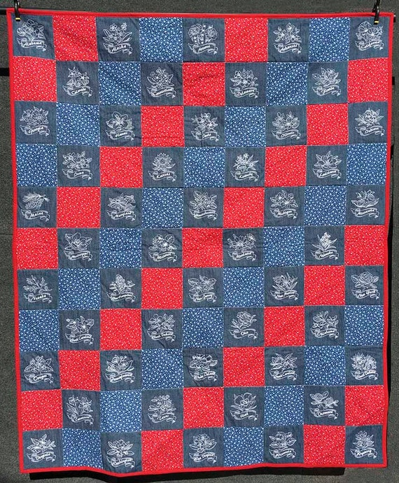 State Flowers Quilt