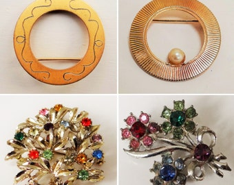 Vintage Bundle, Brooches