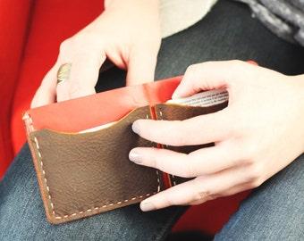 3 pocket wallet