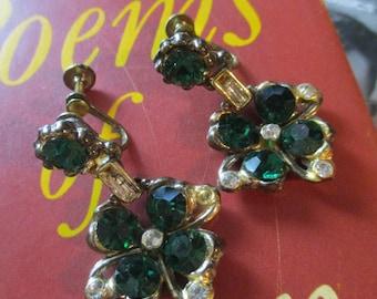 Vintage Clover Earrings