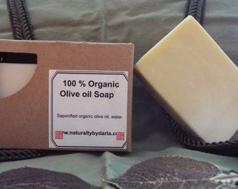 100% Organic Olive Oil Soap