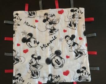 Minnie Mouse Handmade Taggy