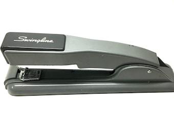 Vintage Art Deco Style Gray Swingline Desk Stapler, Great Condition