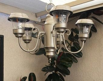Chandalier Solar Lamp