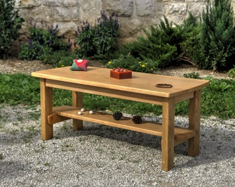 Coffe Table, Wood Table,  Living Room Table, Center Table, Low Living Room Table, Club Table