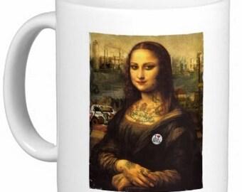 Modern Mona Lisa Mug