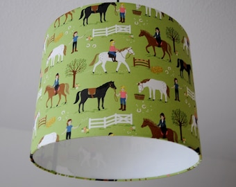 "Ceiling lamp ""horse ranch"""
