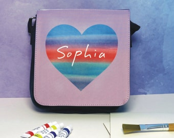 Design Your Own Abstract Watercolour Art Shoulder Bag