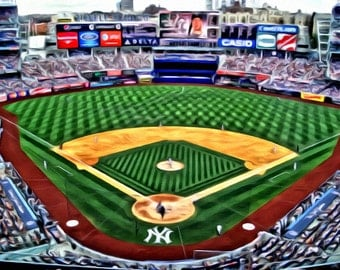 Yankee Stadium - Print or Canvas