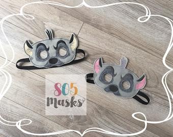 Hyena Masks, Kids Masks, Kids Costumes, Hyena Mask, Lion Guard Inspired Jasiri Mask, Lion King Inspired Ed Mask, Animal Mask, Halloween mask