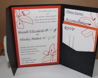 Digital Wedding Invitation Suite