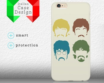 Case Protective The Beatles Music '60s Minimal SoftTouch Iphone 4/4S/5/5S/5SE/5C/6/6S/6+/6splus Samsung S3/S3neo/S4/S4mini/S5/S5mini/S6/note