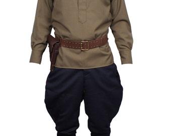 Soviet military uniform NKVD Sergeant major state security USSR type WWII
