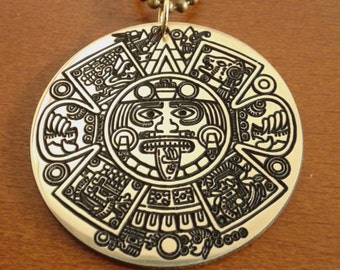 Mayan calendar amulets