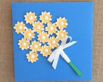 Custom Multi-Flower Card