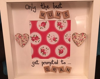 Mothers Day Scrabble Frames