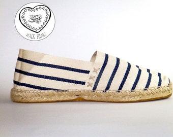 Espadrilles sailor stripes