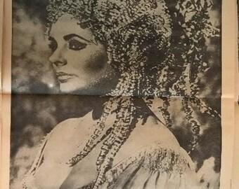 Original Vintage Poster - Elizabeth Taylor