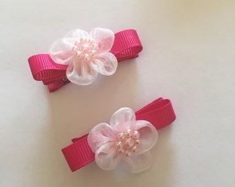 Pink clippie set