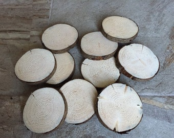 Wood Slices (10+), wood discs, wooden coasters, coasters,craft supplies