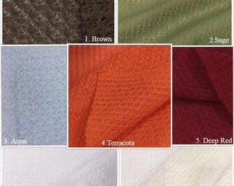 USA Made Premium Quality Sheer and lightweight Knit Fabric by the Yard (Wholesale Price Available By the Bolt) - 7499 - 1 Yard