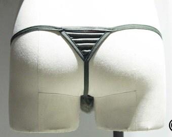 Welton PRINT - Men's Thong Underwear