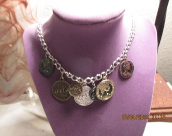 Ladies Coin Necklace