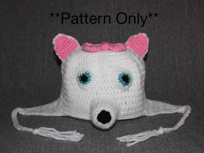 American eskimo dog puppy hat pattern dog hat crochet dog hat american eskimo dog puppy hat pattern dog hat crochet dog hat bow crochet pattern dog crochet hat pattern bankloansurffo Gallery