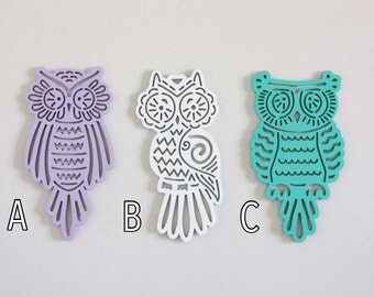 Laser Cut Owls - Unfinished
