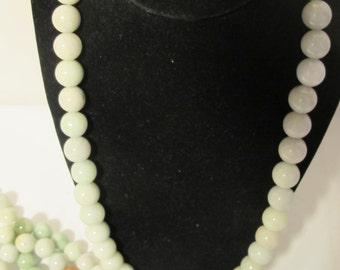 Multi Colored Jade Necklace