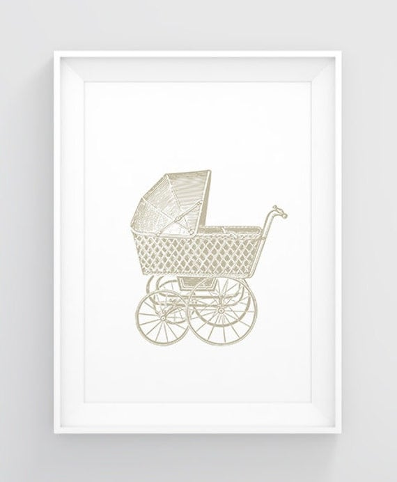 Vintage Baby Wall Decor : Items similar to gender neutral nursery decor