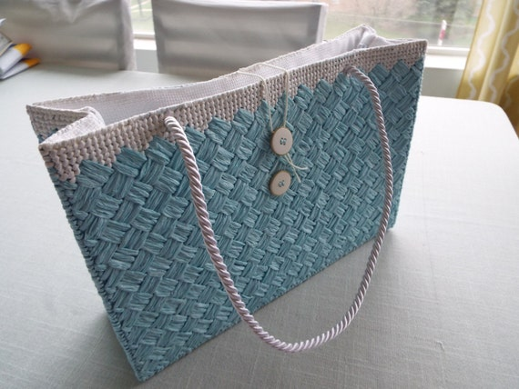 Handbag Lining Material : Straw handbags with fabric lining and silk by