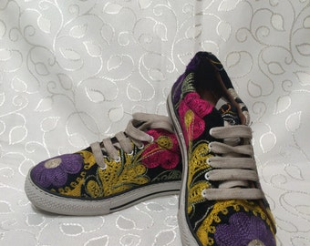 Special sneakers. Hand made leather.Every size is possible....