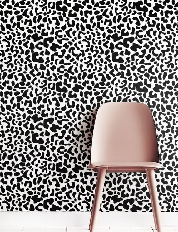 cheetah print wallpaper removable wallpaper self adhesive