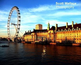 London Eye by Day Photo