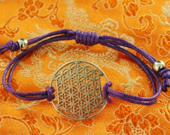 Flower of life with purple