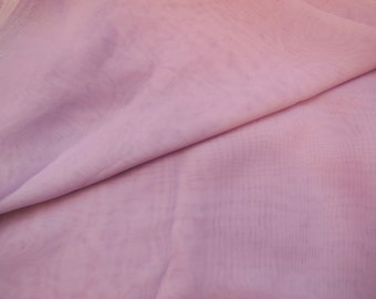 Purple lilac Premium Chiffon Fabric / Polyester chiffon fabric Clothing sewing DIY is for sale. Sold by Per 0.5Meter
