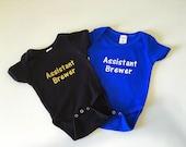 Custom Order for Katie - Assistant Brewer Onesie