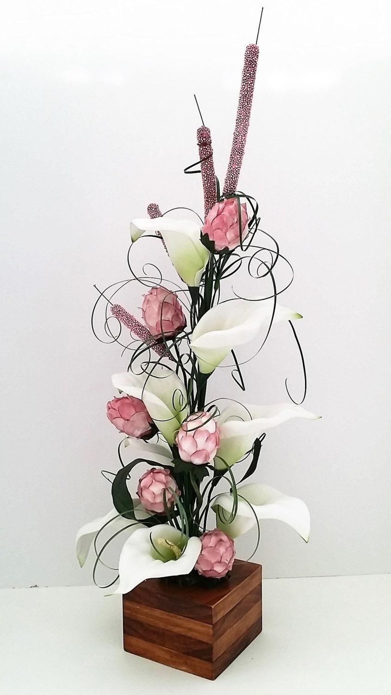 Silk Arrangements For Home Decor Artificial Flowers Silk Flowers Lily Arrangment Artificial Silk