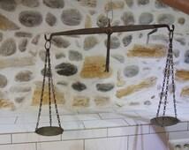 Vintage balance scales