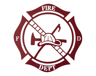 Items Similar To Metal Wall Art Custom Fire Department