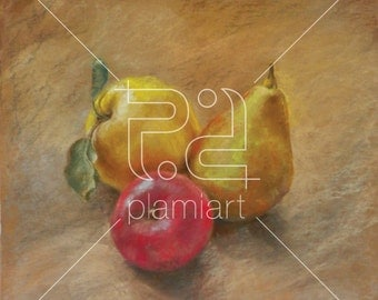 Autumn Fruit - Soft Pastel