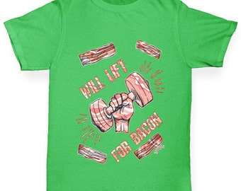 Boy's Will Lift For Bacon T-Shirt