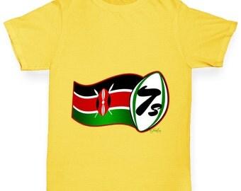 Boy's Rugby 7S Kenya T-Shirt