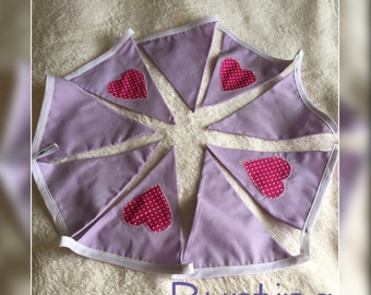 Lovely in Lilac Bunting